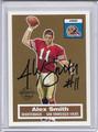 Alex Smith Autographed Rookie Football Card 3658