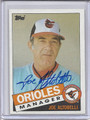 Joe Altobelli Autographed Baseball Card 3692