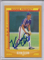 Kevin Elster Autographed Baseball Card 3705