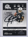 Jerry Porter Autographed Football Card 3737
