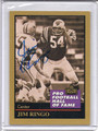 Jim Ringo Autographed Football Card 3733