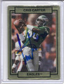 Cris Carter Autographed Football Card 3736