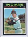 Jack Heideman Autographed Baseball Card 3779
