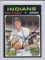 Steve Hargan Autographed Baseball Card 3786
