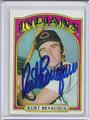 Kurt Bevacqua Autographed Baseball Card 3843