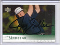 Joey Sindelar Autographed Golf Card 3849