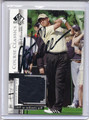 Retief Goosen Autographed Piece of the Game Golf Card 3853