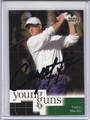 Casey Martin Autographed Golf Card 3860