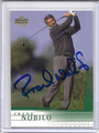 Frank Nobilo Autographed Golf Card 3864