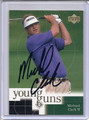 Michael Clark Autographed Golf Card 3877