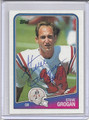 Steve Grogan Autographed Football Card 3953
