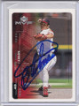 Bartolo Colon Autographed Baseball Card 3989