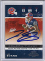 Lee Evans Buffalo Bills Autographed Football Card 3963