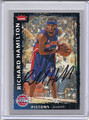 Richard Hamilton Autographed Basketball Card 4001