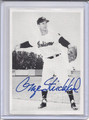 George Strickland Autographed Baseball Card 4012