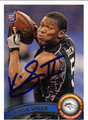 VIRGIL GREEN AUTOGRAPHED ROOKIE FOOTBALL CARD #40312A