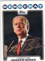 JOSEPH BIDEN AUTOGRAPHED CARD #40413E