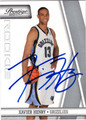 XAVIER HENRY AUTOGRAPHED ROOKIE BASKETBALL CARD #40512A