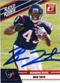 BEN TATE AUTOGRAPHED ROOKIE FOOTBALL CARD #40612H