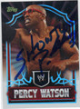 PERCY WATSON AUTOGRAPHED WRESTLING CARD #40613L