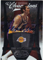 JERRY WEST LOS ANGELES LAKERS AUTOGRAPHED & NUMBERED BASKETBALL CARD #40713D