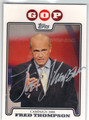 FRED THOMPSON AUTOGRAPHED CARD #40813H