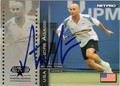 ANDRE AGASSI AUTOGRAPHED TENNIS CARD #40813L