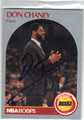DON CHANEY HOUSTON ROCKETS AUTOGRAPHED BASKETBALL CARD #40913D
