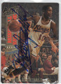 NATE ARCHIBALD KANSAS CITY KINGS AUTOGRAPHED BASKETBALL CARD #40913G