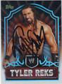 TYLER REKS AUTOGRAPHED WRESTLING CARD #40913i