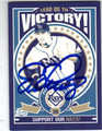 EVAN LONGORIA TAMPA BAY RAYS AUTOGRAPHED BASEBALL CARD #41013N
