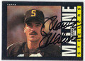 MARK MALONE AUTOGRAPHED FOOTBALL CARD #41211E