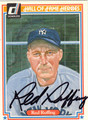 RED RUFFING AUTOGRAPHED VINTAGE BASEBALL CARD #41212i