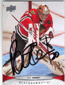 RAY EMERY CHICAGO BLACK HAWKS AUTOGRAPHED HOCKEY CARD #41213i