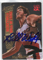 BILL WALTON PORTLAND TRAIL BLAZERS AUTOGRAPHED BASKETBALL CARD #41213K