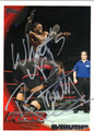 R-TRUTH AUTOGRAPHED WRESTLING CARD #40912F