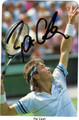 PAT CASH AUTOGRAPHED ROOKIE TENNIS CARD #40912i