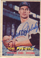 TOM POHOLSKY CHICAGO CUBS AUTOGRAPHED VINTAGE BASEBALL CARD #41313J