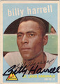 BILLY HARRELL ST LOUIS CARDINALS AUTOGRAPHED VINTAGE BASEBALL CARD #41313N