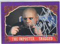 CHRISTOPHER LLOYD AUTOGRAPHED CARD #41413F