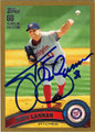 JOHN LANNAN AUTOGRAPHED & NUMBERED BASEBALL CARD #41512O