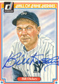 BILL DICKEY AUTOGRAPHED VINTAGE BASEBALL CARD #41512P