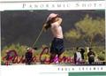 PAULA CREAMER AUTOGRAPHED GOLF CARD #41512E