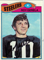 ROY GERELA AUTOGRAPHED FOOTBALL CARD #41611G