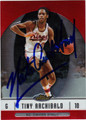 NATE ARCHIBALD AUTOGRAPHED BASKETBALL CARD #41712B