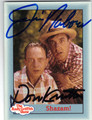 JIM NABORS & DON KNOTTS DOUBLE AUTOGRAPHED CARD #41713D