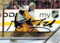 MARC-ANDRE FLEURY PITTSBURGH PENGUINS AUTOGRAPHED HOCKEY CARD #41713J