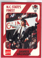 JAMES VALVANO AUTOGRAPHED BASKETBALL CARD #41813A