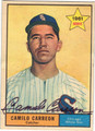 CAMILO CARREON CHICAGO WHITE SOX AUTOGRAPHED VINTAGE ROOKIE BASEBALL CARD #42013A