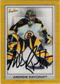 ANDREW RAYCROFT AUTOGRAPHED HOCKEY CARD #42012D